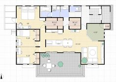 Japanese Architecture, House Plans, Sweet Home, Floor Plans, Flooring, How To Plan, Interior, Design, Sims