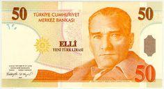 PUESTO Nº19: LIRA TURCA (REPÚBLICA DE TURQUÍA)  Las divisas más valiosas del Mundo