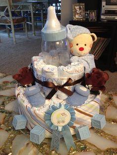 Boys Diaper Cake