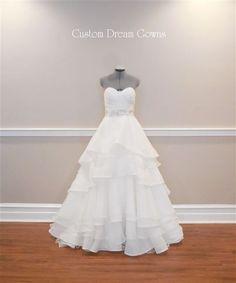 Ball Gown Wedding Dresses Ideas: Casablanca Style 2174   Custom Dream Gowns   Wedding Dresses & Bridal Gowns