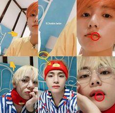 Taehyung being the most submissive member of bts Bts Memes, Vkook Memes, Taekook, Yoonmin, Foto Bts, Albums Bts, K Pop, V Chibi, Boy Band
