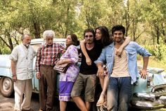 They are ready for a crazy ride, are you? #FindingFanny #HomiAdajania #DeepikaPadukone #ArjunKapoor #DimpleKapadia #NaseeruddinShah #PankajKapur #Dna