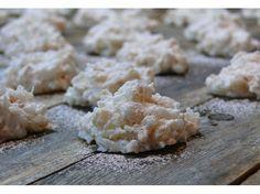 Rice Krispie Coconut Snowballs