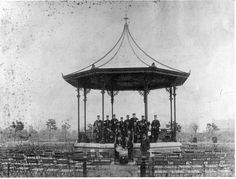 Bandstand. Central Park, East Ham. c1900.