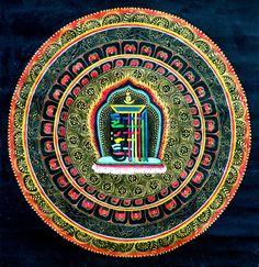 Kalachakra mantra yantra