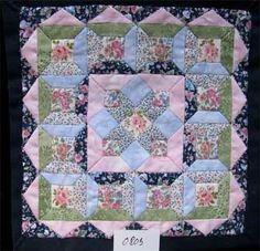 Ina Wichers - hand pieced quilt, selling for €95,00 (approx 115)