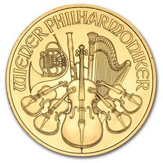 79034 2014 Austrian Philharmonic Gold Coin .9999 Fine Purity