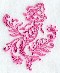 "Damask Mermaid	Product ID:	E5563 Size:	3.15""(w) x 3.87""(h) (80 x 98.2 mm)	Color Changes:	1 Stitches:	12829	Colors Used:	1"