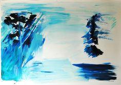 Ana Sério Reflexo (turvo) da Luz #5, 2015, 102x140cm #AnaSério #Artist #Art #Oil #Painting #Color #Portugal #Gallery #SaoMamede #Artwork