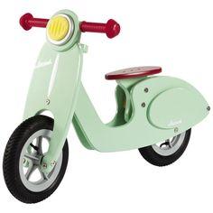 Mooi gevonden op fonQ.nl: houten scooter voor kids #toys