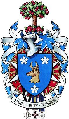 Arms of William Allistair Fraser