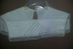 Crocheted Lace Linen Collar Handmade ladies decor   Clothing, Shoes & Accessories, Women's Accessories, Collar Tips   eBay!