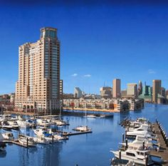 Temporary Furnished 1 Bedroom/1 Bathroom Waterfront Condo in Baltimore, MD:  This lovely waterfront condo is walking distance to Baltimore's Inner Harbor. Conveniently located by a water taxi station for further adventures!