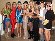Britany Spears group costume ideas