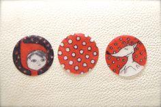 Tuto pour créer ses propres boutons en plastique fou.