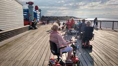 Red Wheelies were filmed on the Pier