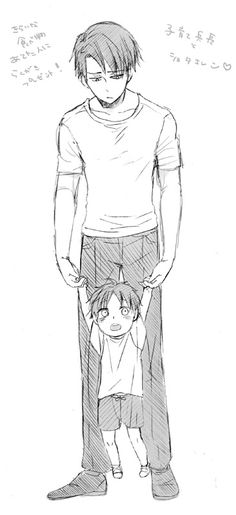 Really need a Dad Rivaille T__T