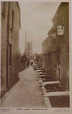 Berry Lane, Kingsteignton - links to Kingsteignton History Society