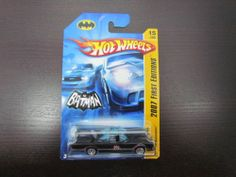 HOT WHEELS 66 TV BATMOBILE Variation With 5 Hole Wheels. 2007 NEW MODELS 15/36