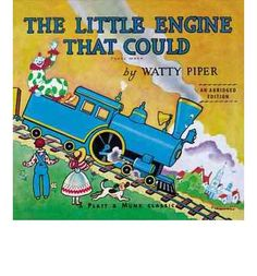 PERSISTING. Although she is not very big, the Little Blue Engine agrees to try to pull a stranded train full of toys over the mountain.