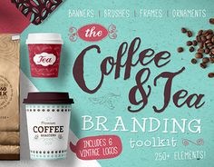 "Check out this @Behance project: ""Coffee & Tea Branding Kit"" https://www.behance.net/gallery/21465529/Coffee-Tea-Branding-Kit"