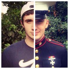 Civilian to Marine