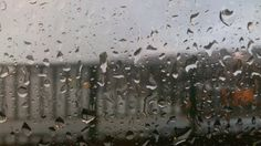 rainy glass