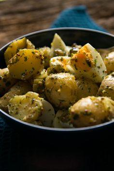 Mega leckerer Kartoffelsalat ohne Mayo