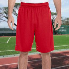 Russell Athletic-Dri-Power Colorblock Short-6B4DPM