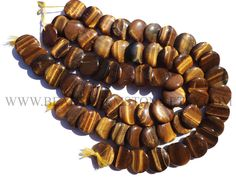 Gemstone Beads, Tiger Eye Smooth Disc (Quality AA+) / 23 to 26 mm / 36 cm / TI-059 by beadsogemstone on Etsy #tigereyebeads #discbeads #gemstonebeads #semipreciousstones #semipreciousbeads #briolettes #jewelrymaking #craftsupplies #beadsofgemstone #stones #beads