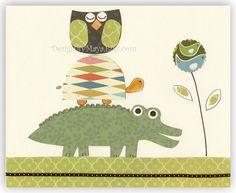 nursery wall art DesignByMaya.Etsy.com