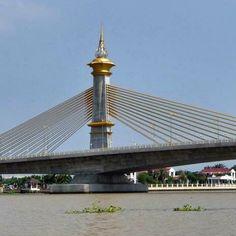 Bridge in Bangkok, Thailand  Photo courtesy of Hugh Pearman
