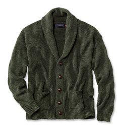 Just found this Mens Shawl Collar Cardigan - Pure Cotton Shawl Cardigan -- Orvis on Orvis.com!