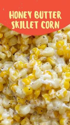 Corn Dishes, Vegetable Sides, Vegetable Side Dishes, Vegetable Recipes, Vegetarian Recipes, Cooking Recipes, Veggie Recipes Sides, Vegetarian Side Dishes, Side Dish Recipes
