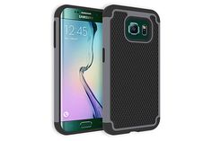 2-in-1 Combo Tough Armor Heavy-duty Hybrid Cases for Samsung Galaxy S6 Edge | Lagoo Tech