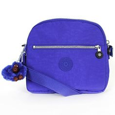 Women's Cross-Body Handbags - Kipling HB6467 Keefe Shoulder Bag Crossbody Sapphire * More info could be found at the image url.