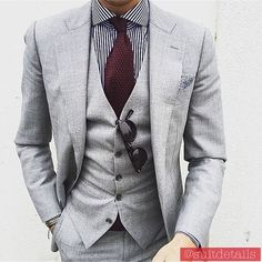 We love suits so much that we dedicate this board to incredible styles and icons #mensfashion #men #mens #suit #grey #blue #green #black #tie #shirt #gentlemen