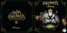 menus halloween Disneyland Paris Disneyland Halloween, Hello Disneyland, Menu Halloween, Happy Halloween, Darth Vader, Anime, Poster, Fictional Characters, Anime Shows