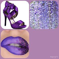 Younique purple status presenter, blank