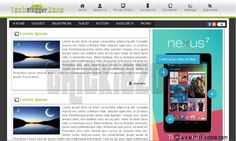Blogger Templates, Lorem Ipsum, Tech, Grief, Technology