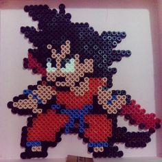 Goku Dragon Ball hama beads by pilidad7