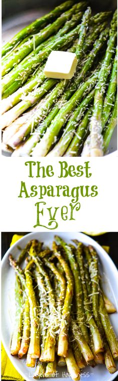 Best-Ever Lemon Parmesan Asparagus