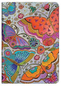 Flutterbyes; Part of Paperblanks' Playful Creations collection of writing journals