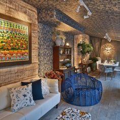 Aproveite ideias da Casa Cor Goiás para decorar salas, cozinhas e varandas