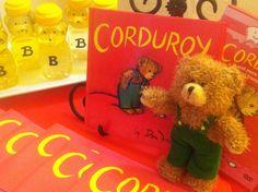 Corduroy Teddy Bear Party #corduroy #party