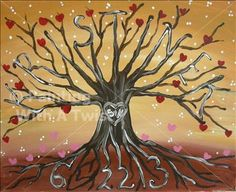 Family Tree Beginnings - Painting with a Twist