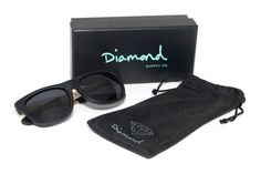 Diamond Supply Co. Leather Wrapped Sunglasses | Hypebeast
