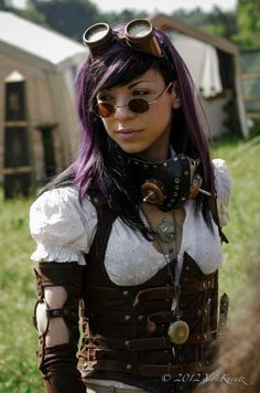 Image result for steampunk wizard female