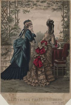 Illustrirte Frauen Zeitung 1875