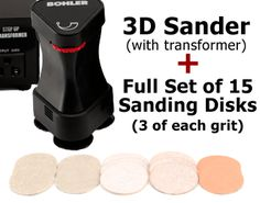 ITS BACK!!! 3D Sander with Free Sanding Disk Set!